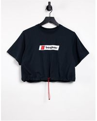 Berghaus Cropped Tramantana T-shirt - Black