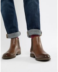 New Look - Faux Leather Chelsea Boots In Brown - Lyst