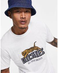Dickies Tiger T-shirt - White