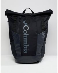 Columbia - Convey 25l Rolltop Daypack In Black - Lyst