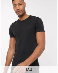 French Connection Essentials Tall T-shirt - Black