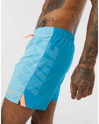 Nike Rift - Pantaloncini da bagno blu