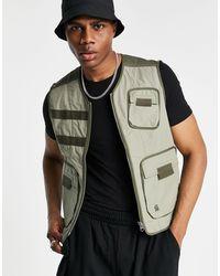 G-Star RAW Utility Vest - Green