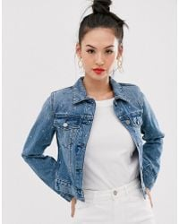 Sass & Bide Veste en jean structurée - Bleu