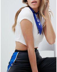 Tommy Hilfiger - Gigi Hadid Logo Choker Bandana - Lyst