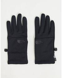 The North Face – Etip – e Handschuhe aus recycelten Materialien - Schwarz