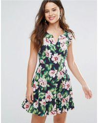 Louche - Gael Dress In Floral Print - Lyst