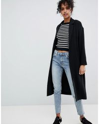 Monki - Oversized Lightweight Coat - Lyst
