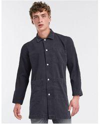 Weekday Черное Пальто Lab-черный Цвет