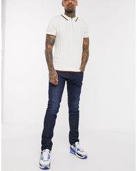 DIESEL D-Luster - Jeans slim lavaggio scuro 0095K - Blu