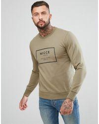 Nicce London - Nicce Logo Sweater - Lyst