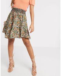 Y.A.S Мини-юбка С Цветочным Принтом -мульти - Многоцветный