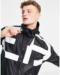 Emporio Armani - Черная Куртка С Принтом На Спине -черный - Lyst