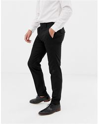French Connection Pantalones lisos - Negro