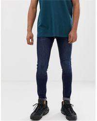 Pull&Bear Super Skinny Jeans - Blue