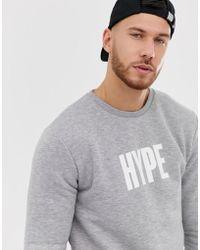Hype Logo Crew Neck Jumper