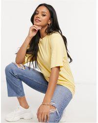 ASOS Ultimate Oversized T-shirt - Yellow