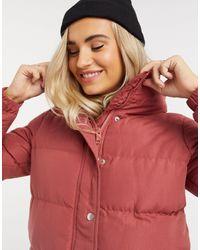 Brave Soul Slay Puffer Jacket - Pink