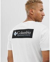 Columbia North Cascades Back Print T-shirt - White