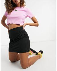 Brave Soul - Jada Bodycon Mini Skirt - Lyst