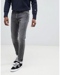 Levi's - 510 - Jean skinny taille standard - Délavé gris Luther 4 directions - Lyst