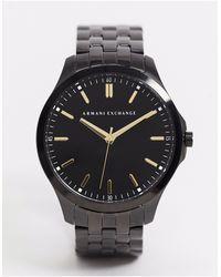 Armani Exchange Черные Часы Из Нержавеющей Стали Ax2144-черный