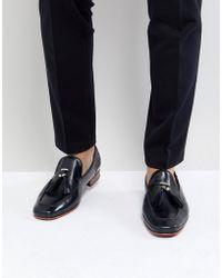 a7a54306dfb5 Jeffery West - Martini Tassel Loafers In Blue - Lyst