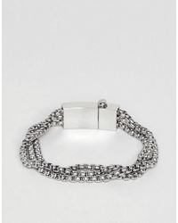 Vitaly - Triad Bracelet In Stainless Steel - Lyst