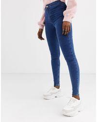 TOPSHOP Joni Skinny Jeans - Blue