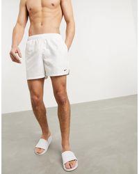 "Nike Pantaloncini beach-volley bianchi da 5"" - Bianco"