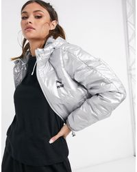 PUMA Cropped Padded Jacket - Multicolour