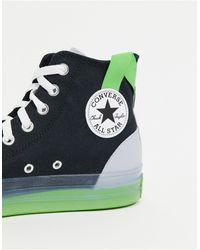 Converse Черные Высокие Кроссовки Chuck Taylor All Star Cx-черный Цвет