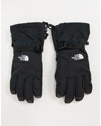 The North Face Черные Лыжные Перчатки Etip-черный