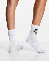 Skinnydip London Skinny Dip X Powerpuff Girls Buttercup Socks - Green