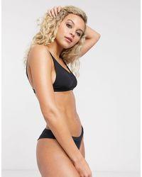 Bershka Bikini Top - Black