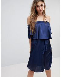 Blend She - Hanna Off Shoulder Dress - Lyst