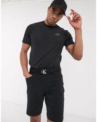 Calvin Klein Черная Футболка Newport-черный