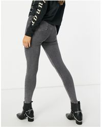 TOPSHOP Joni - Skinny Jeans - Grijs