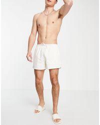 Collusion Swim Shorts - White