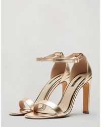 Miss Selfridge Heeled Sandals - Red