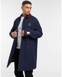 Tommy Hilfiger Пальто Длиной Три Четверти С Подкладкой Collections-темно-синий