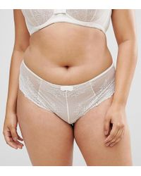 City Chic - Eve Shorty Brief - Lyst