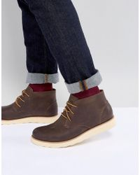 Eastland - Jack Chukka Leather Boots In Brown - Lyst
