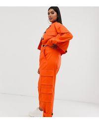 ASOS ASOS DESIGN Curve – Cargo-Anzughose - Orange
