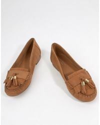 Carvela Kurt Geiger - Mocking Leather Flat Shoes - Lyst