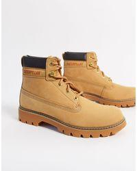 Caterpillar Cat Leather Hiker Boots - Multicolor
