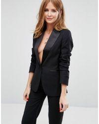 Millie Mackintosh Wren Suit Blazer - Black