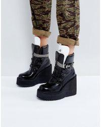 PUMA - X Fenty By Rihanna Sb Wedge Boot - Lyst
