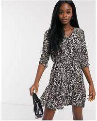 Miss Selfridge Smock Dress - Black