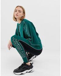 Ivy Park –Active – e Leggings mit Farbblockdesign - Grün